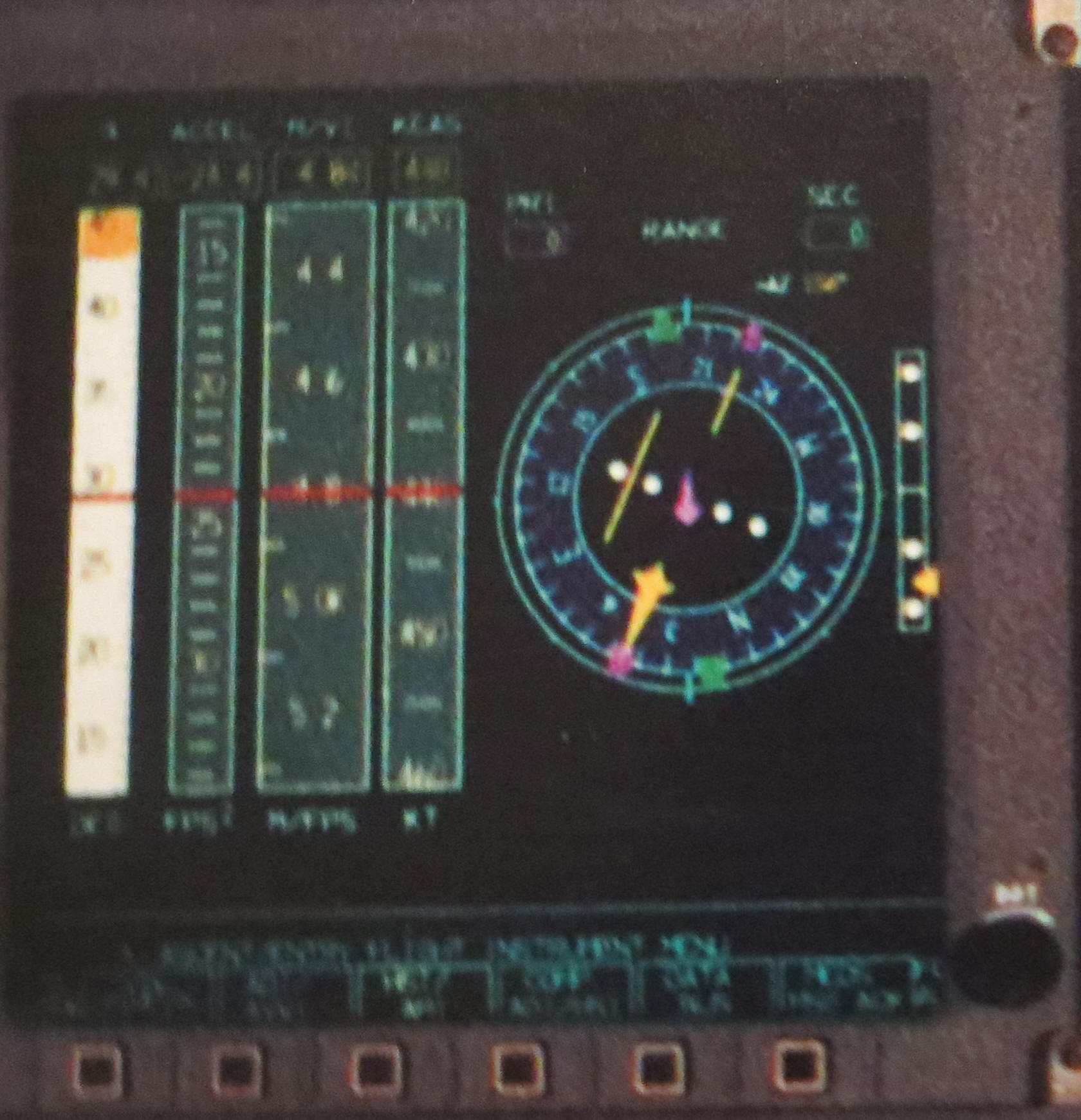 Electronic Flight Instruments