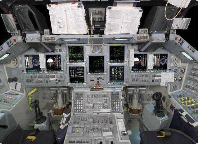 adler planetarium space shuttle simulator - photo #11