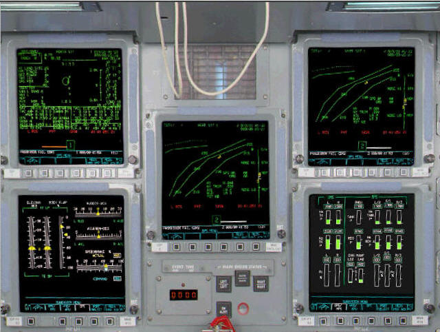 Space Shuttle Instrument Panel : Space shuttle control panel pics about